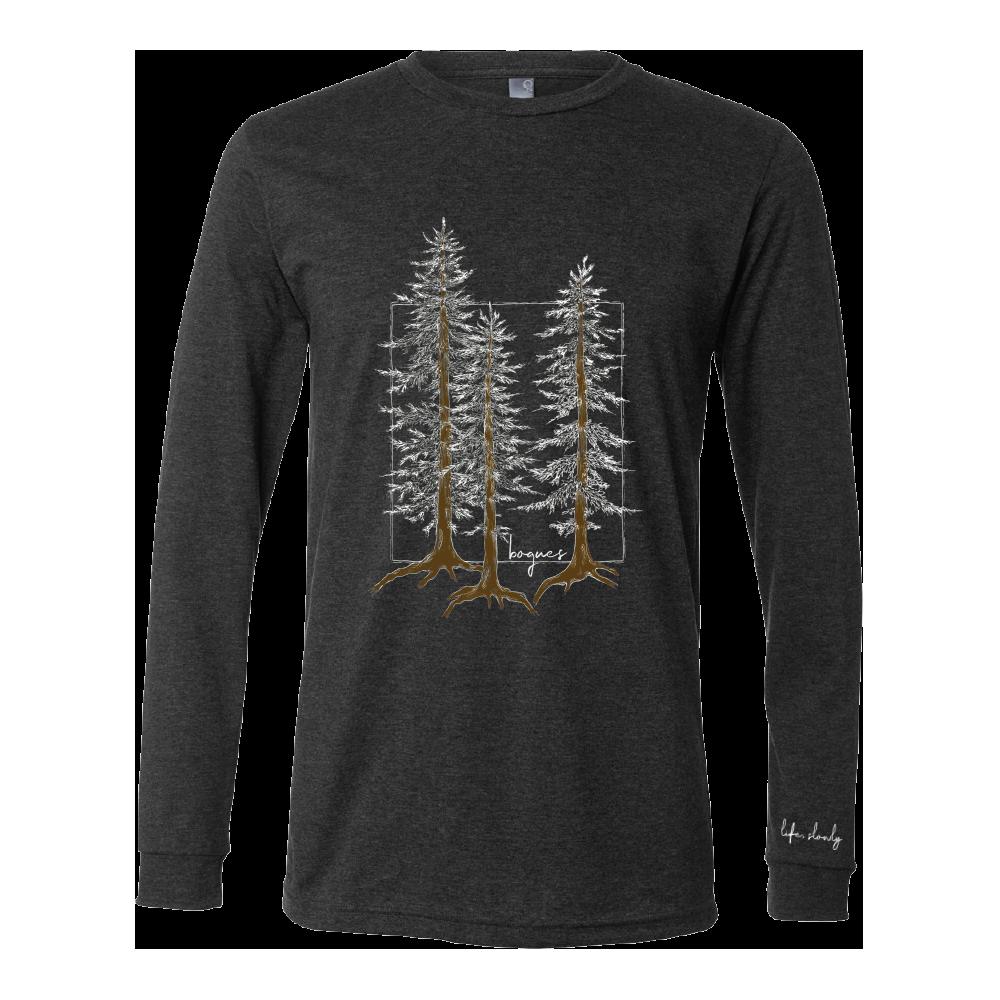 Pine Tree Long Sleeve Tee