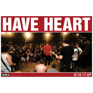 Have Heart '10.17.09 Live' Poster