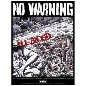 No Warning 'Ill Blood' Poster