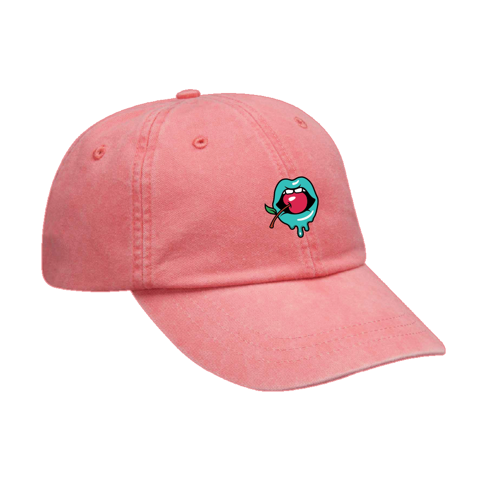 Mouth Hat - Coral