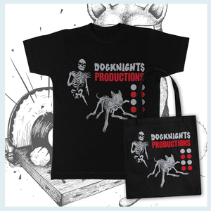 DK Merch: Dog Knights - Chaos (Is) Memes - T-Shirt / Tote Bag