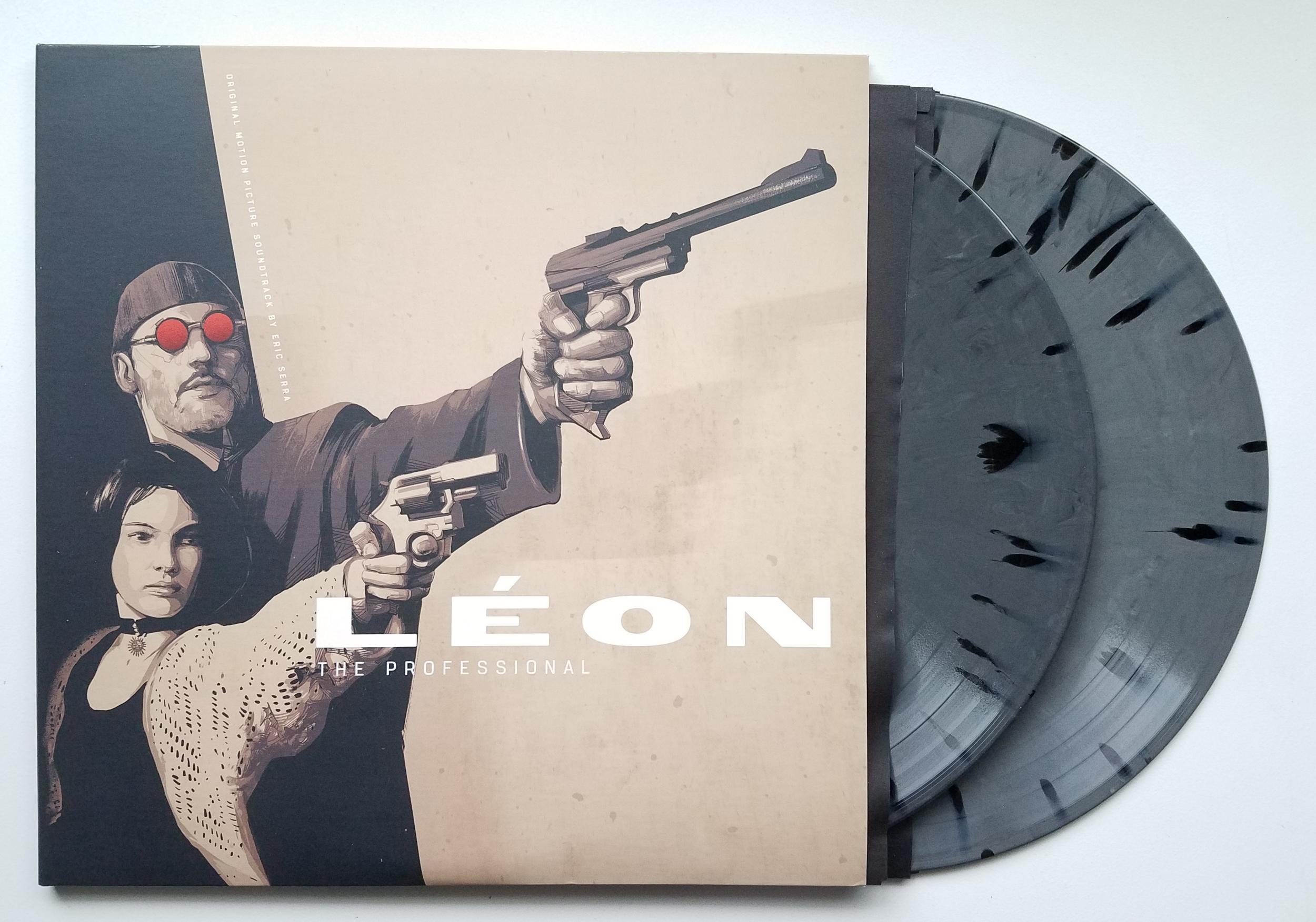 Leon The Professional Original Soundtrack by Eric Serra 2xLP (