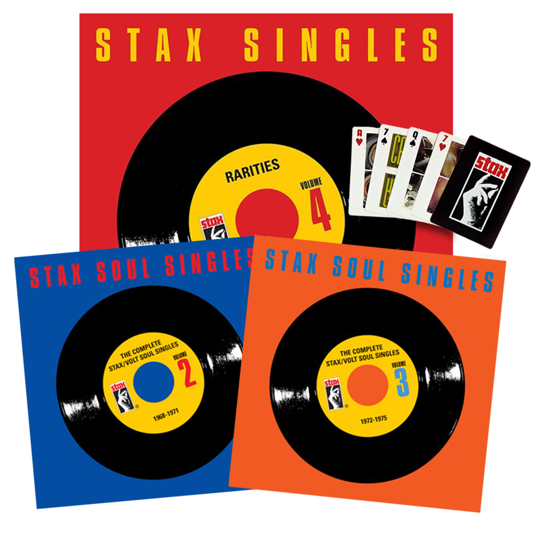Stax Singles Vol. 2-4 CD Bundle