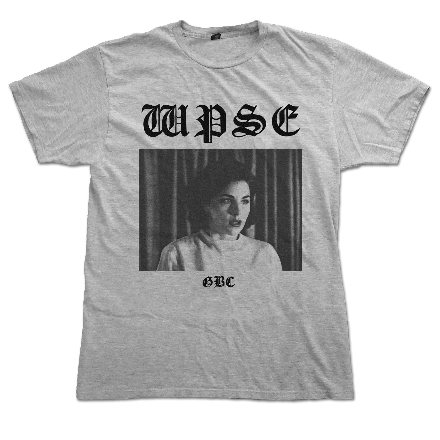 Audrey H T Shirt Grey Wicca Phase Springs Eternal Merch Store