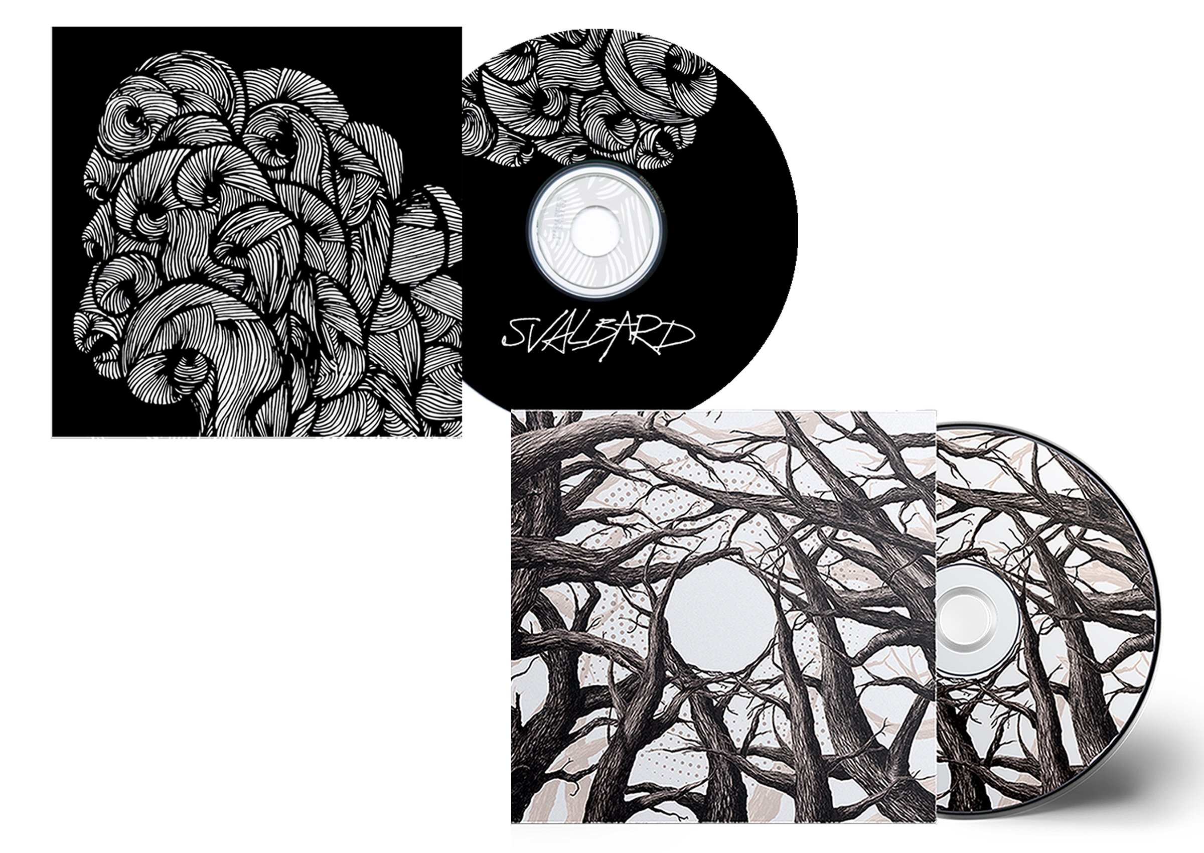 Svalbard - It's Hard To Have Hope CD + 'One day all...' CD