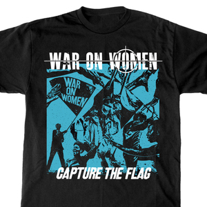 War On Women 'Capture The Flag' T-Shirt