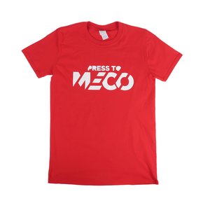 'Press to MECO' Red T-shirt