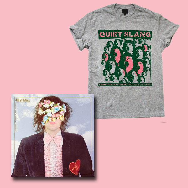 Beach Slang  – Everything Matters But No One Is Listening LP/CD and T-Shirt Bundle