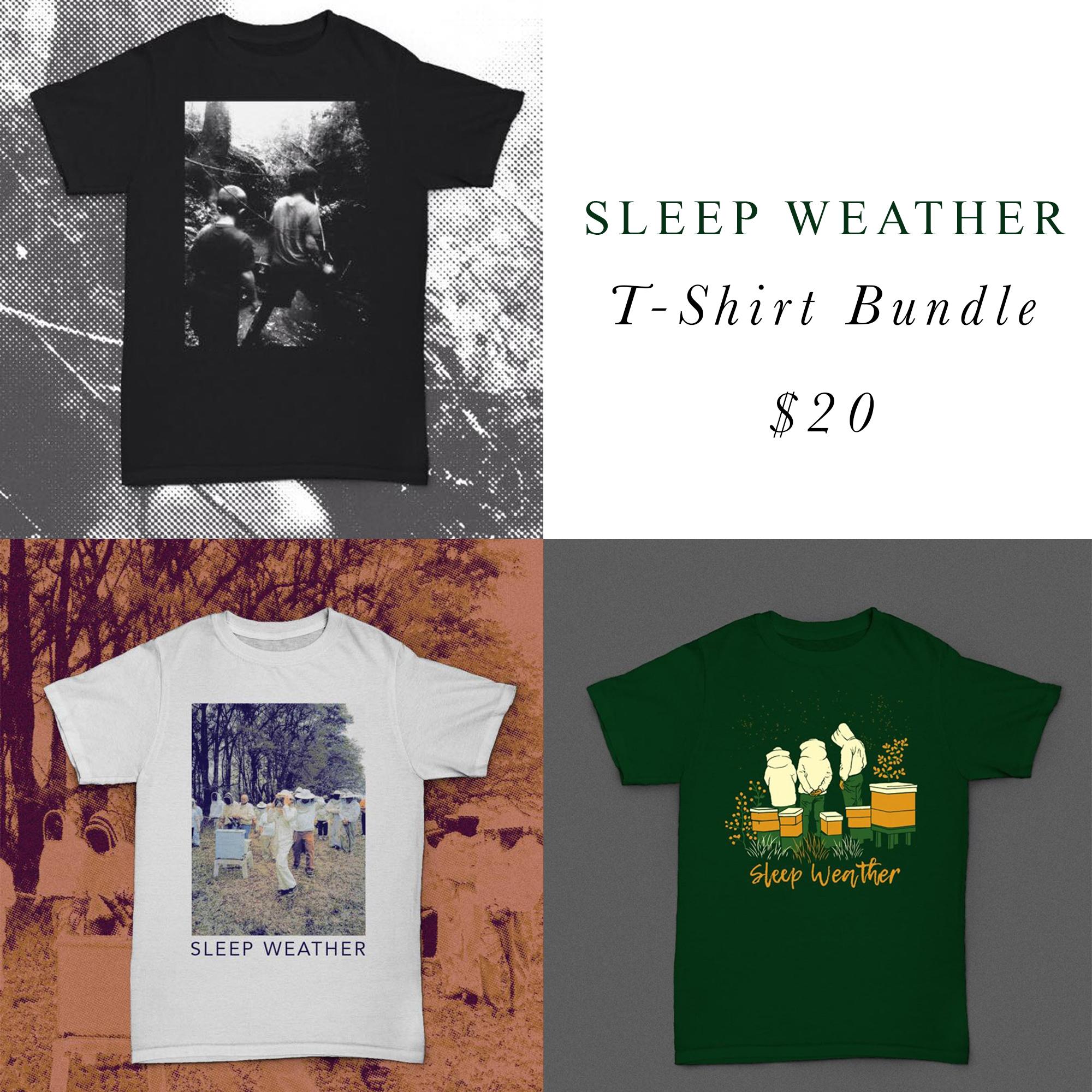Sleep Weather shirt bundle