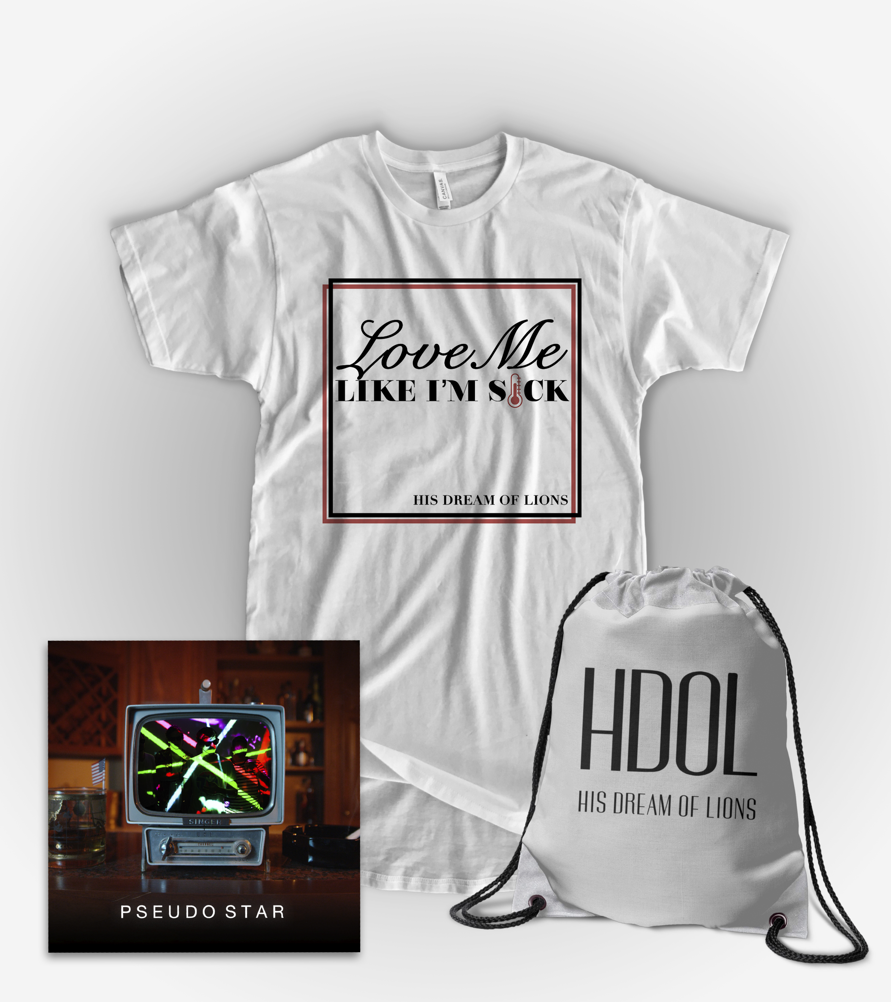 'Love Me Like I'm Sick' Tee Bundle
