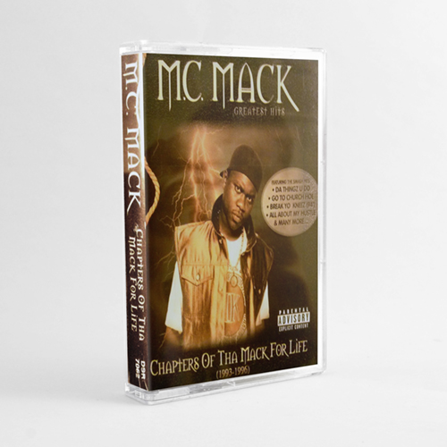 M.C. Mack - Chapters of Tha Mack For Life (OG Cassette Tape)