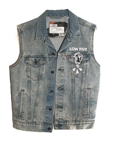Levi's Denim Vest W/ Hands Repeat (S-2XL)