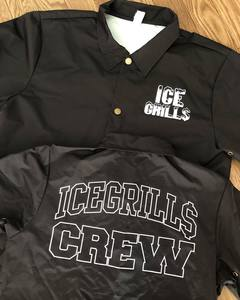 ICE GRILL$ - CREW Nylon Coaches Jacket