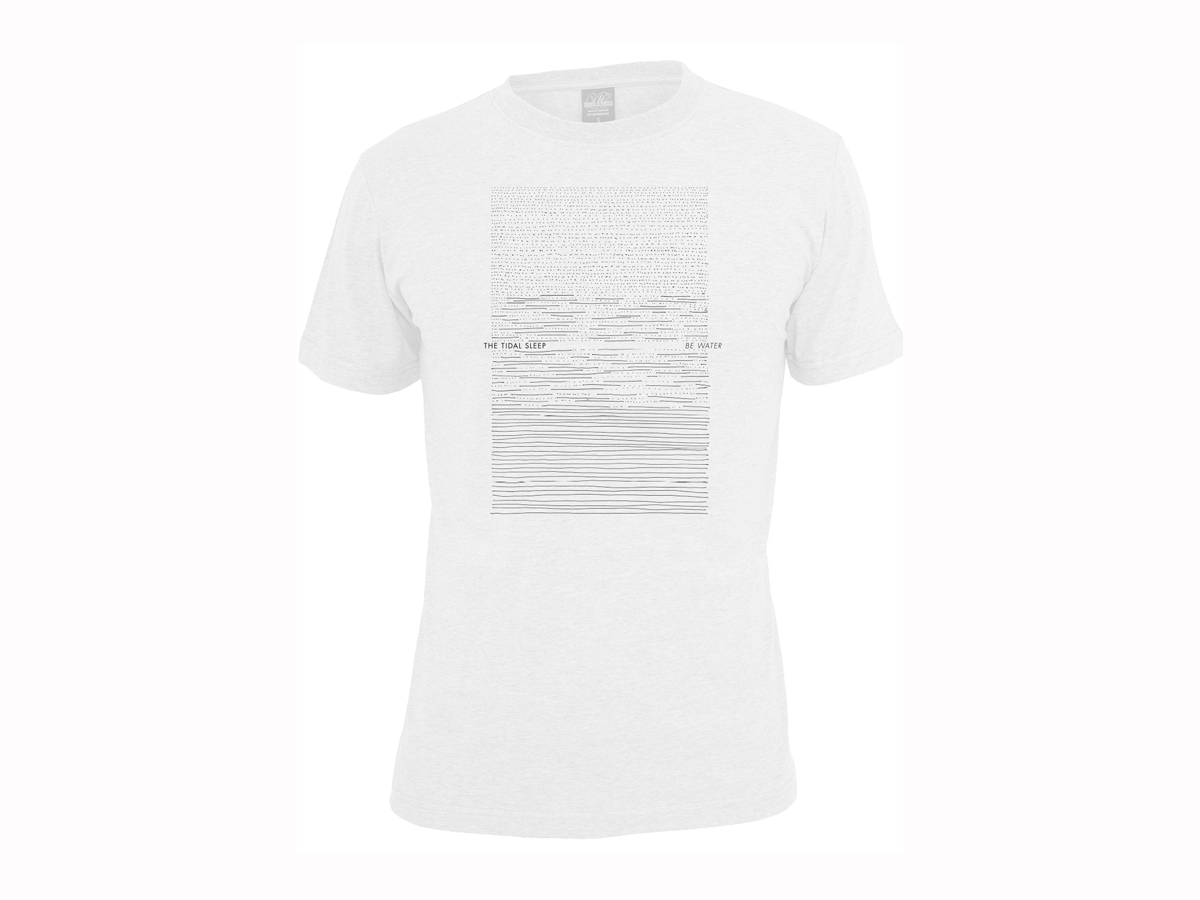 The Tidal Sleep - Be Water shirt (White)