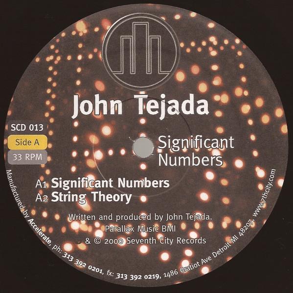 John Tejada – Significant Numbers (7th City