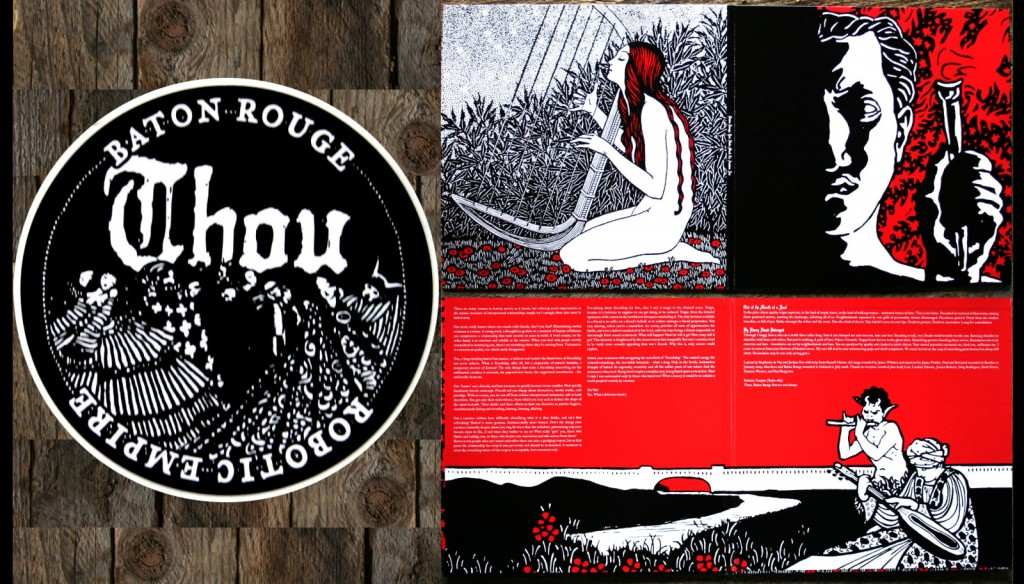 Thou - Baton Rouge, You Have Much To Answer For 12''