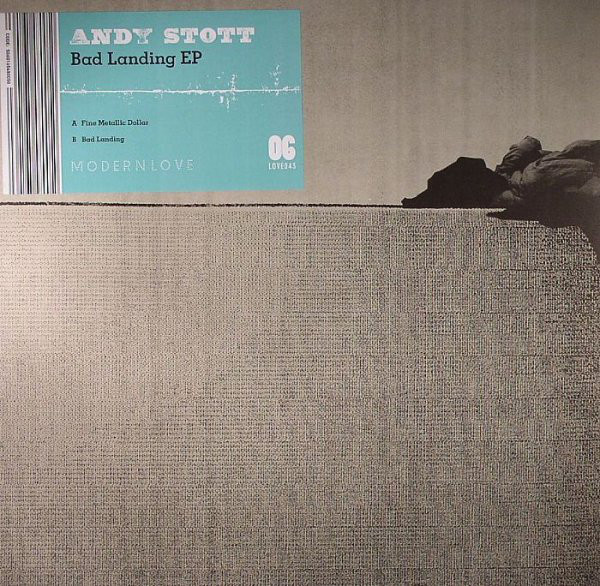 Andy Stott – Bad Landing EP (Modern Love)