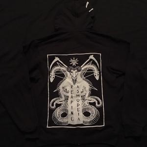 RA Triple Print Scythe Hoodie (Negative)