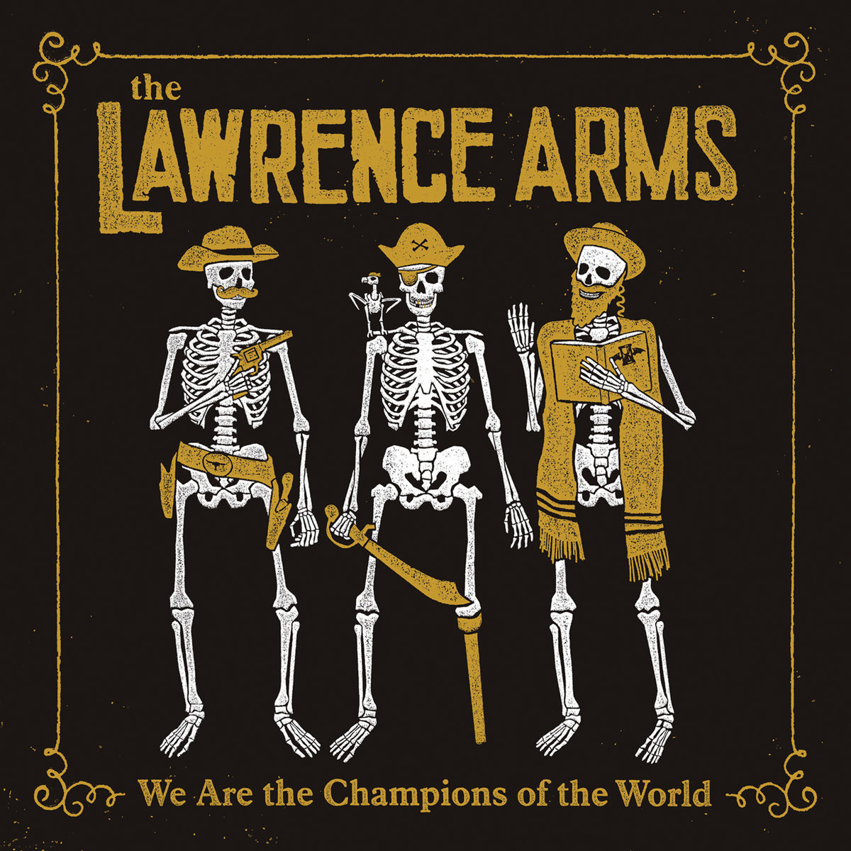 The Lawrence Arms - We Are The Champions 2xLP