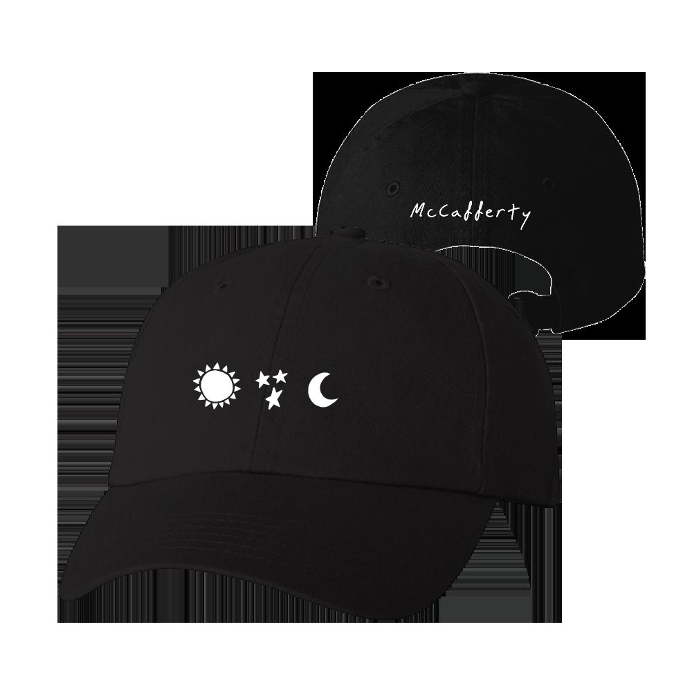 Strain Tee + Sun Star Moon Hat