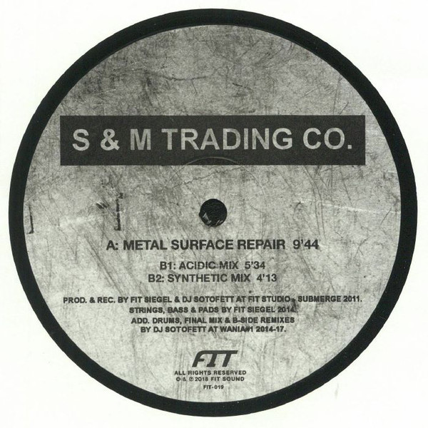 S & M Trading Co. ‎– Metal Surface Repair (Fit Sound)