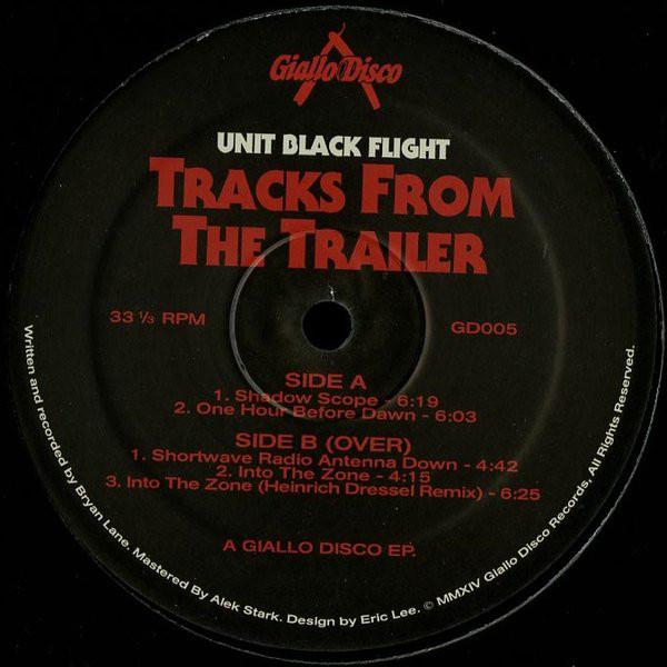 Unit Black Flight – Tracks From The Trailer (Giallo Disco)