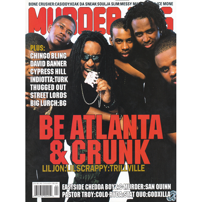 Murder Dog Magazine Volume 11, Number 1 (Lil Jon Cover)
