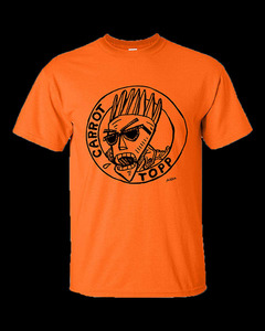 Radioactive Chicken Heads'  Carrot Topp Radioactive Orange T-Shirts
