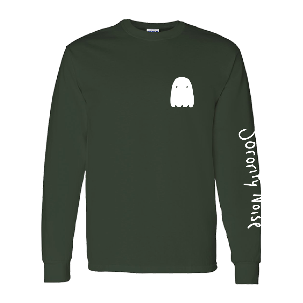 Ghost Long Sleeve - Forest Green