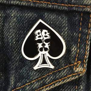 Slapshot 'Spade' Enamel Pin
