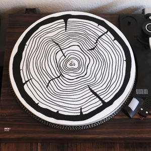 Tree Ring Slipmat