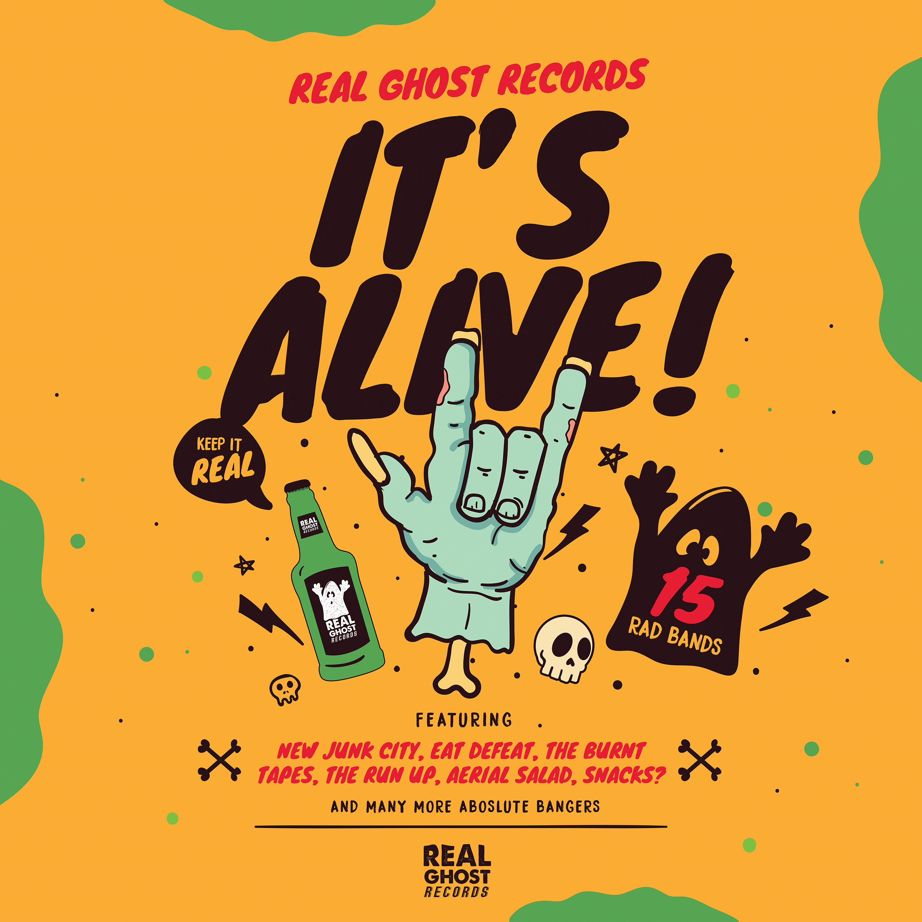 Real Ghost Records - IT'S ALIVE!