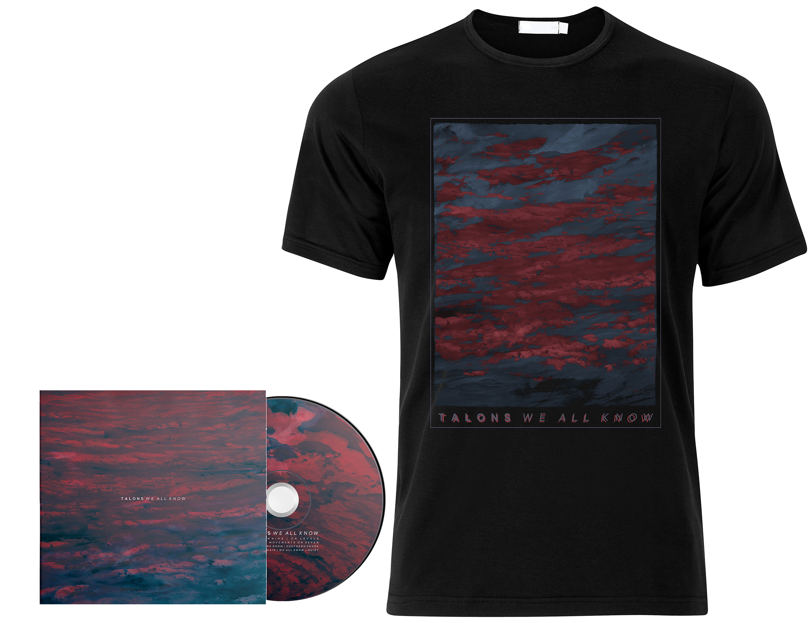 Talons - We All Know CD + shirt PREORDER