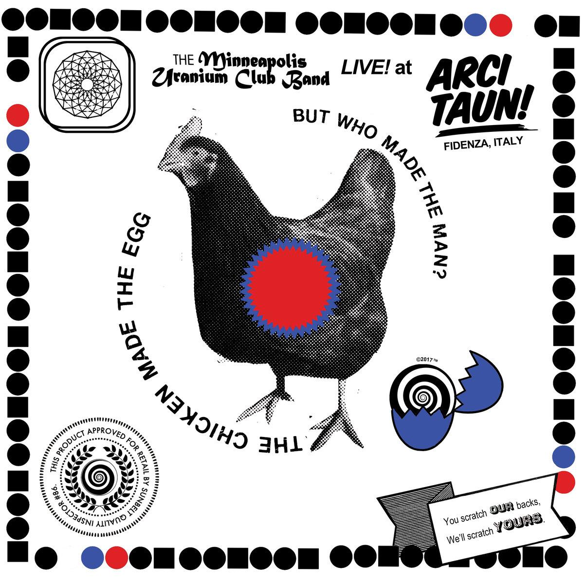 Uranium Club - Live at Acri Taun LP