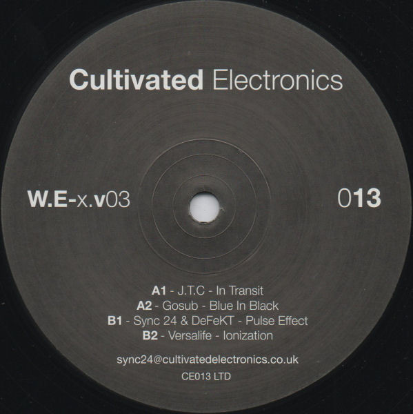 Various ‎– World Electronix Volume 3 (Cultivated Electronics)