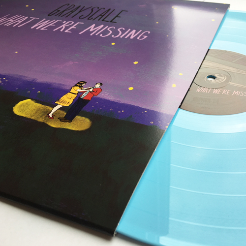 Grayscale - What We're Missing (Baby Blue) Vinyl