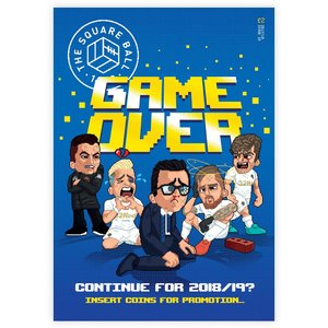 Issue 10 'Game Over' A3 Art Print