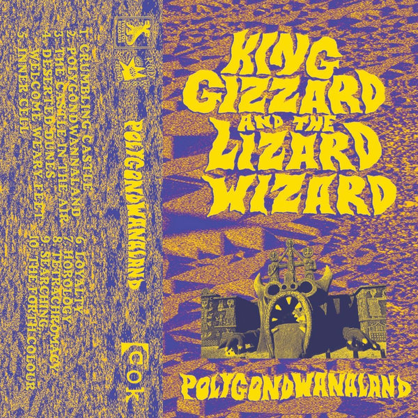 King Gizzard and the Lizard Wizard-Polygondwanaland Cassette Tape