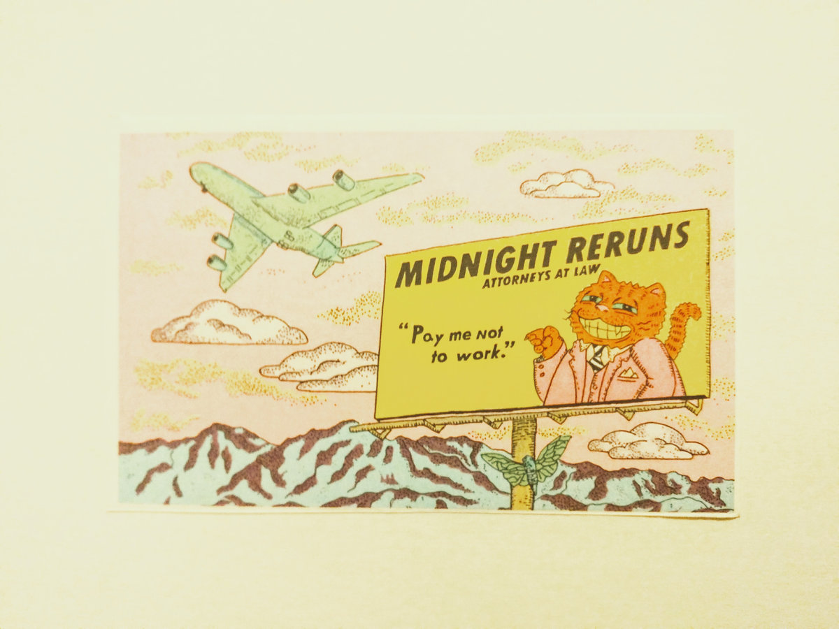 [SOLD] Midnight Reruns - Spectator Sports (Forged Artifacts)