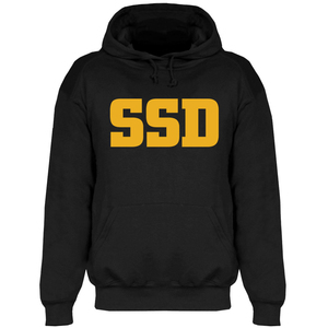 SSD 'Yellow Logo' Pullover Hoodie