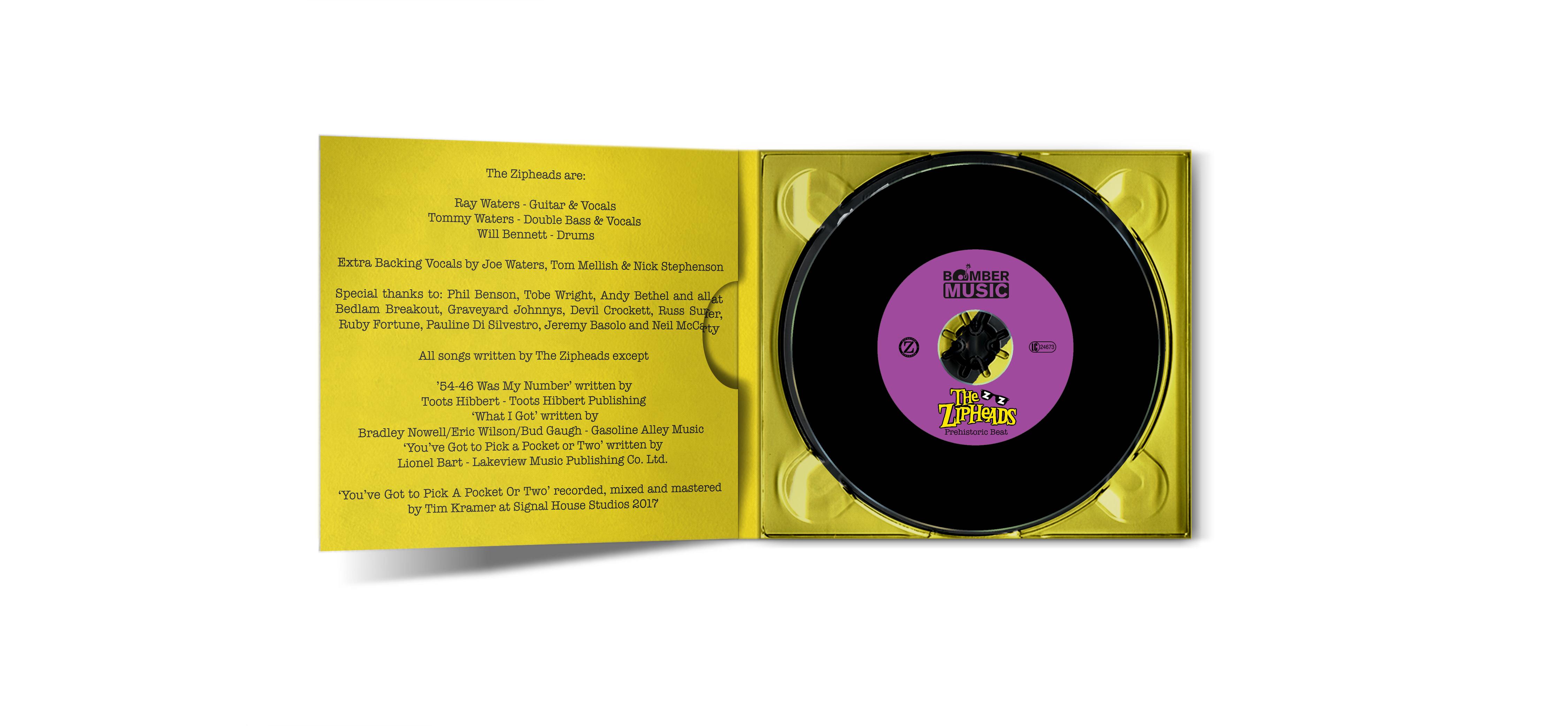 The Zipheads - Prehistoric Beat (Remastered     - Bomber Music