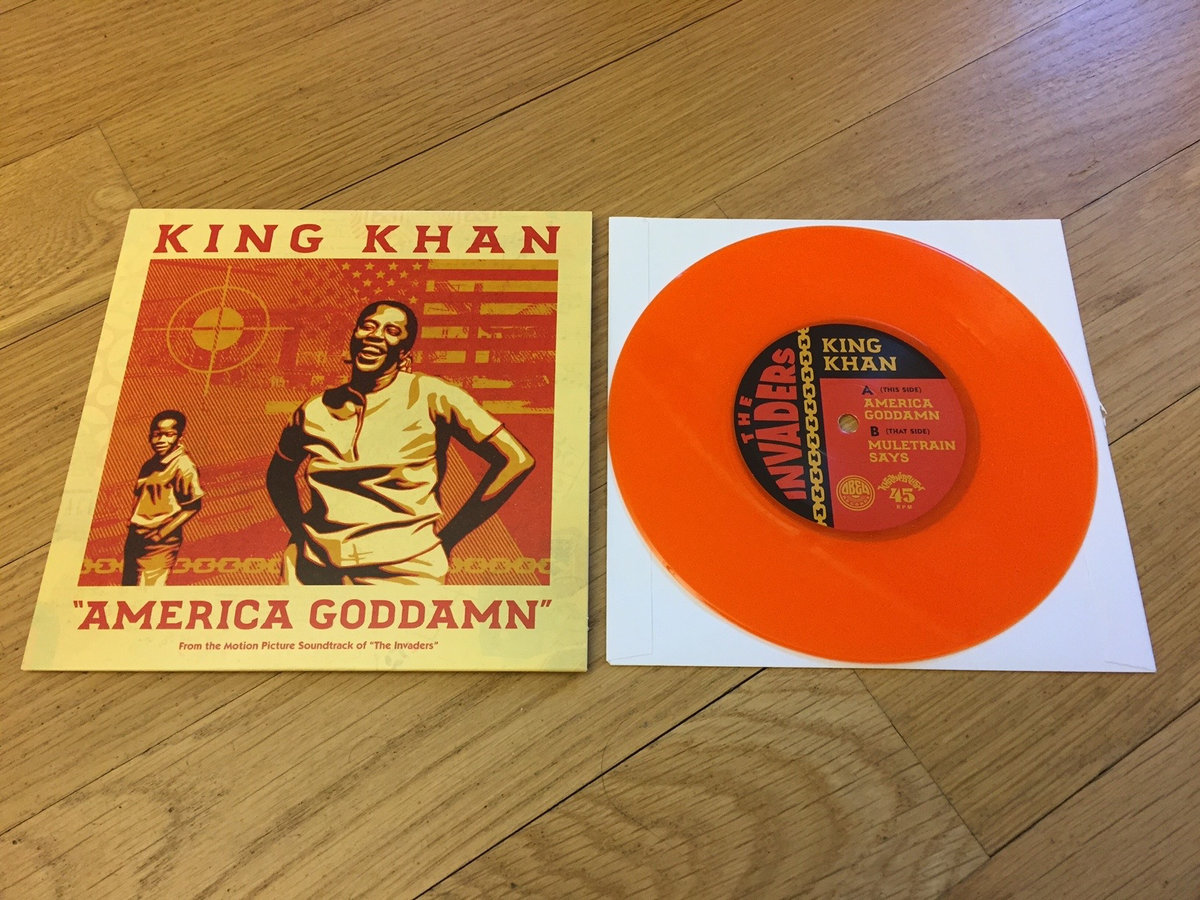 King Khan - America Goddamn