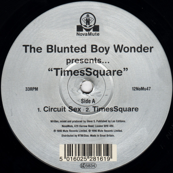 The Blunted Boy Wonder ‎– TimesSquare (NovaMute)