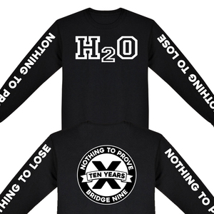 H2O 'Nothing To Prove 10 Year Anniversary' Long Sleeve
