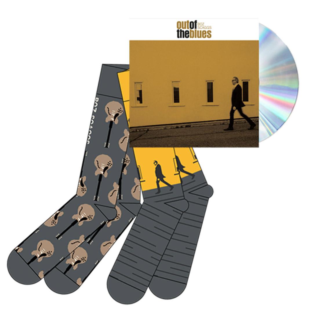 Signed CD + Socks (1 pair)