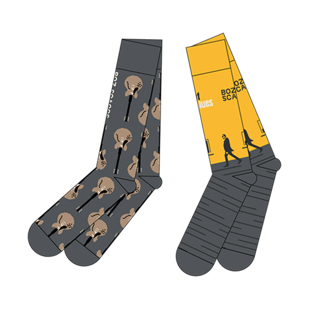 Boz Socks (2 pairs) + Album Download