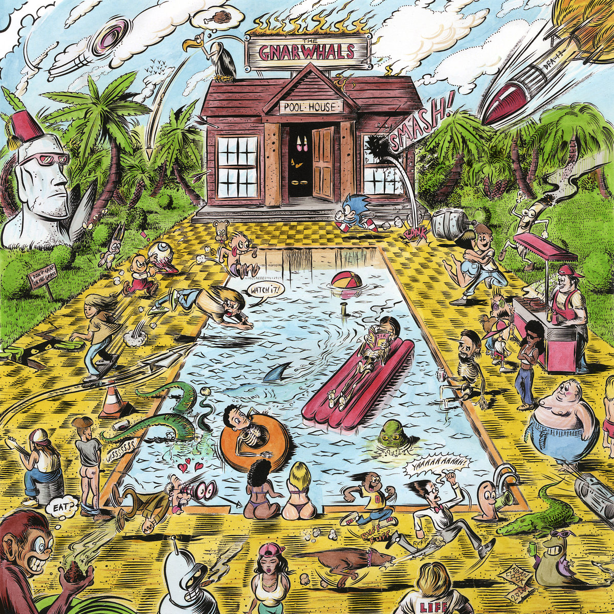 The Gnarwhals - Pool House 12