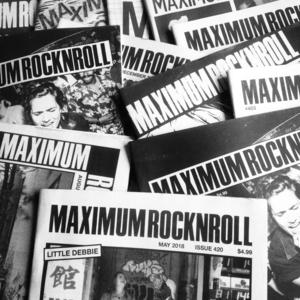 MAXIMUM ROCKNROLL - subscriptions