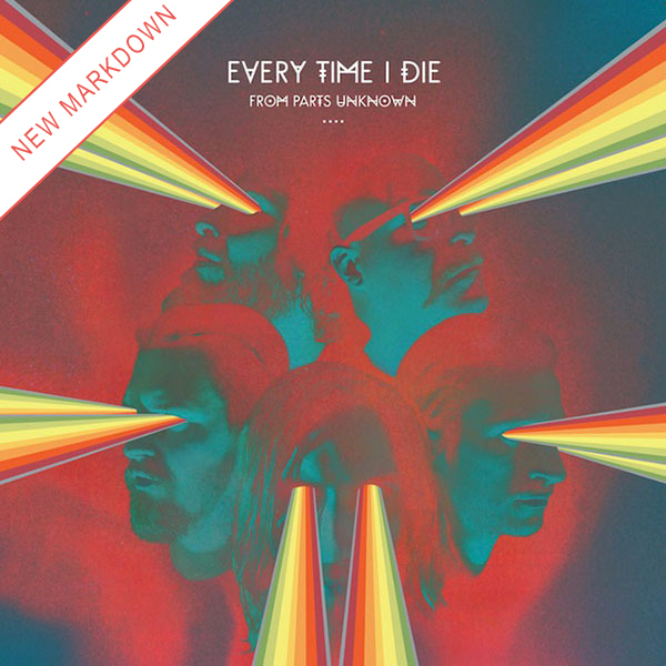Every Time I Die - From Parts Unknown LP *Markdown*