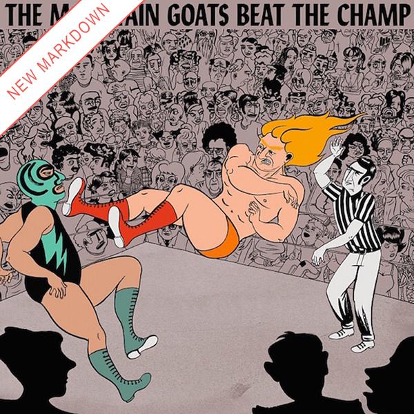 Mountain Goats - Beat the Champ 2xLP *Markdown*
